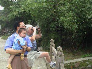 Bird watching in Nanchang.