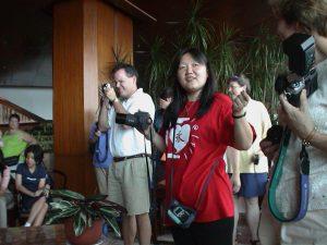 Helen Hu, our CHI coordinator.